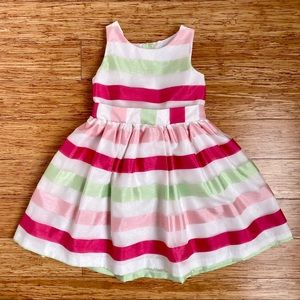 GYMBOREE l Girl Colorful Formal Dress (4)